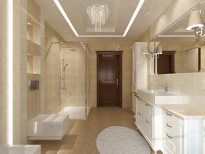 projekty łazienek w stylu angielskim