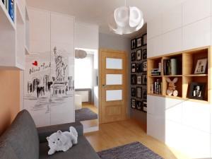 mały pokój nastolatki