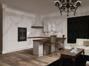 apartament z aneksem kuchennym