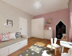 Auradesign.pl pokój dla dziewczynki