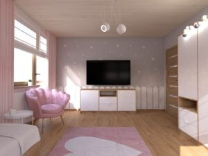 pokój dziewczynki by Auradesign.pl