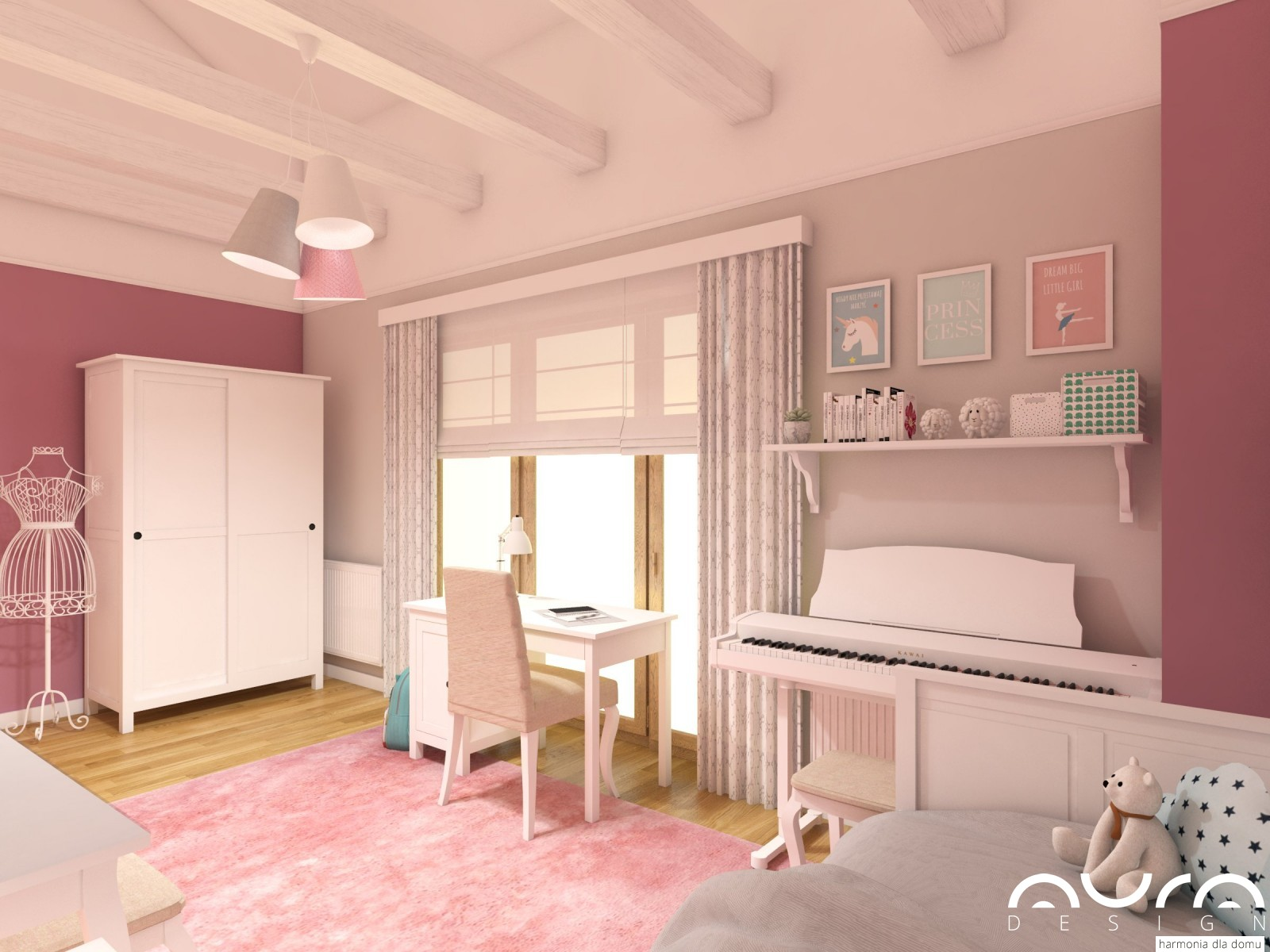 pokój ziewczynki