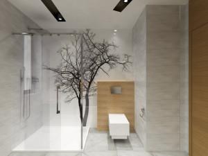 projekt łazienki  Auradesign.pl