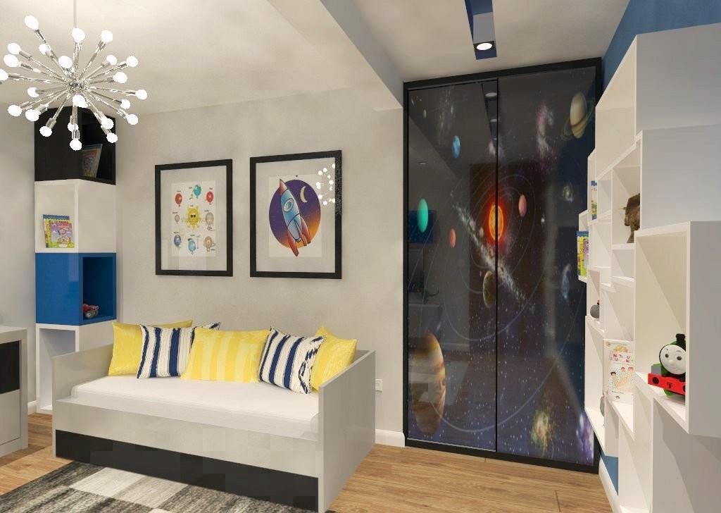projekty pokoju dla chłopca