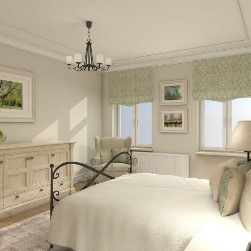 sypialnia w stylu angielskim