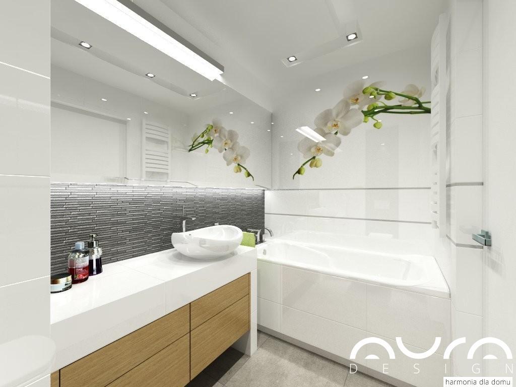 łazienka projekt Dorota Krzyżaniak