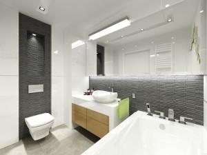 piękna biała łazienka