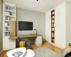 aranżacja biura w domu- Auradesign.pl
