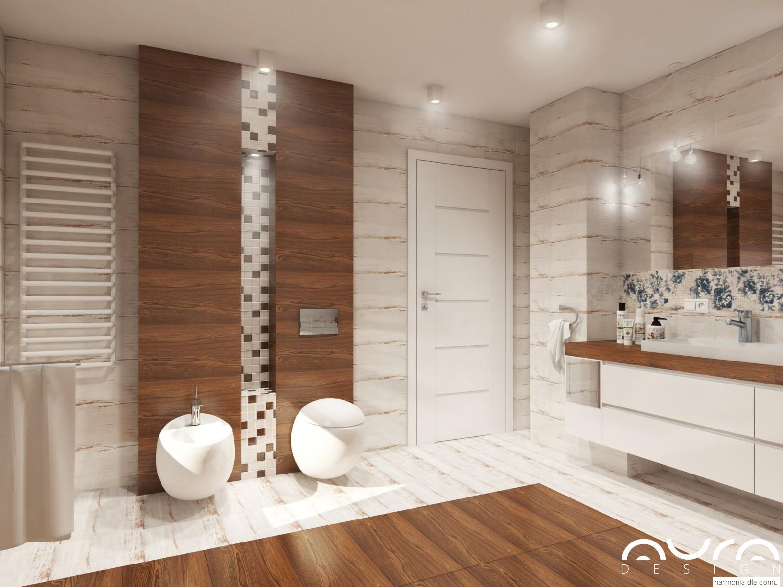 łazienka na poddaszu Auradesign.pl