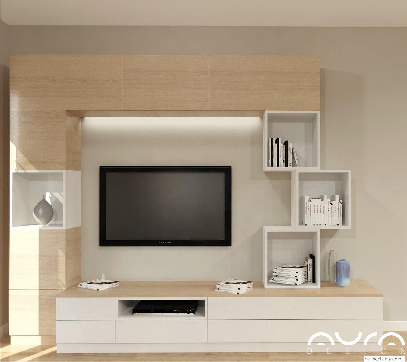 salon zaprojektowany przez Auradesign.pl